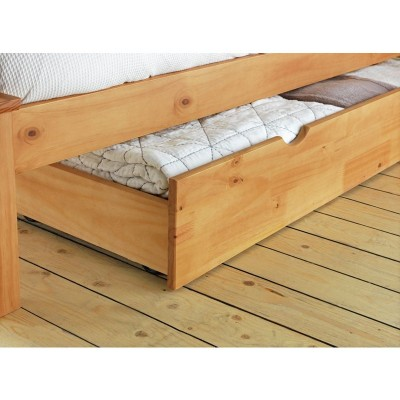 Argos Home Chile Single Bed Frame Oak Stain