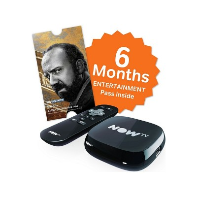 NOW TV 6 MONTH ENTERTAINMENT PASS