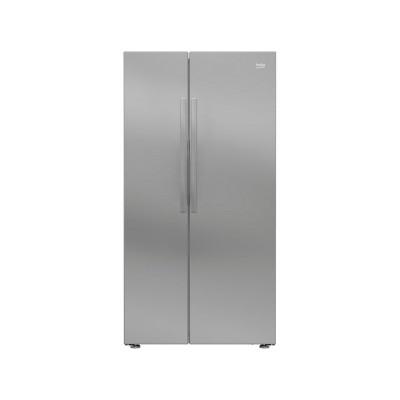 Beko RAS121LS American Fridge Freezer - Silver
