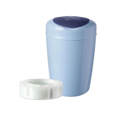 Tommee Tippee Simplee Sangenic Nappy Disposal Bin - Blue