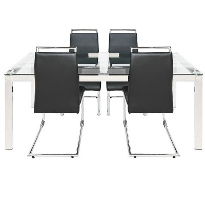 Argos Product Support for Hygena Apollo Glass Dining Table ...