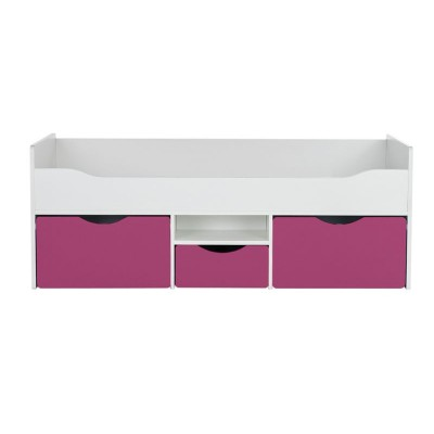 Tolga Cabin Bed Pink Ashley