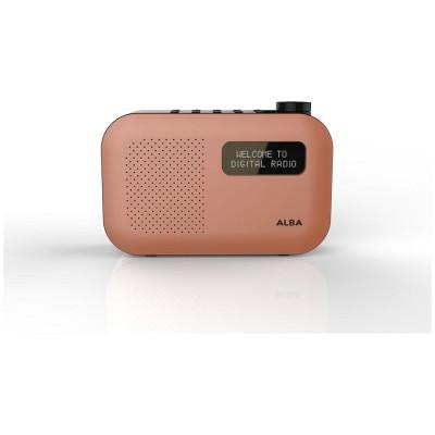ALBA MONO DAB RADIO ORANGE