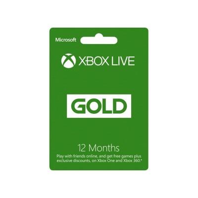 Xbox Live Gold Membership - 12 Months