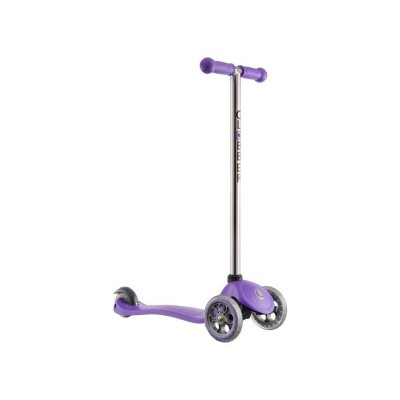 GLOBBER JNR FIXED SCOOTER PURPLE GREY