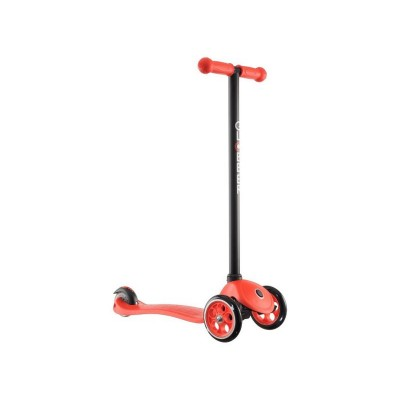 GLOBBER JNR FIXED SCOOTER RED BLACK
