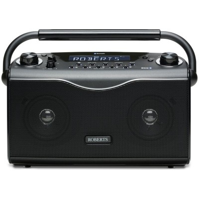 Roberts Eco 4 Bluetooth DAB Radio - Black