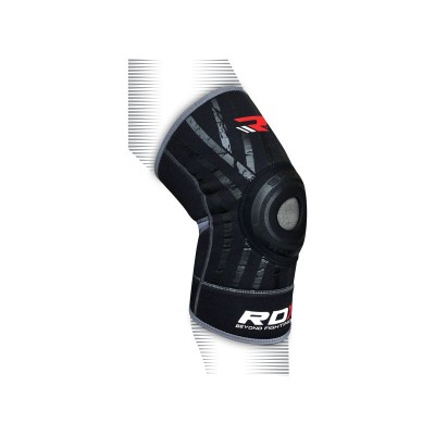 Argos Product Support For Rdx Neoprene Silicone Large To Xlarge Knee Support Black 516 7560