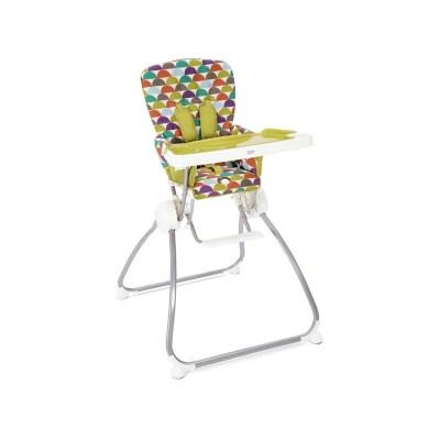 Mamas and Papas Flip and Fold Highchair - Sunrise Stripe