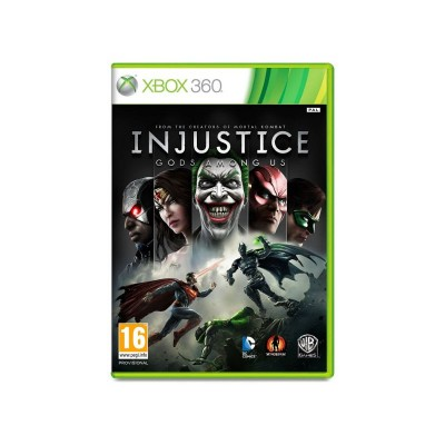 INJUSTICE GODS AMONG US GOTY XBOX 360