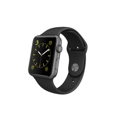 Apple Watch Sport 42mm Grey Case & Black Band