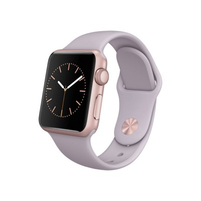 Apple Watch Sport 38mm Rose Gold Case & Lavender Band