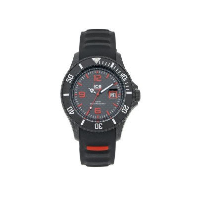 Ice Men's Black and Red Watch