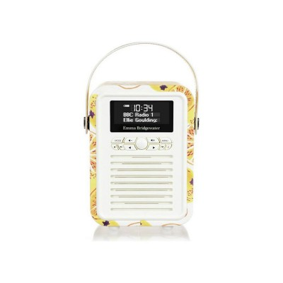 VQ Emma Bridgewater Retro Mini DAB FM Radio - Marmalade