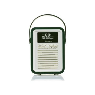 VQ Retro Mini DAB Radio - Green