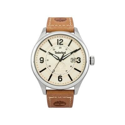 Timberland Blake Men's Tan Leather Strap Watch
