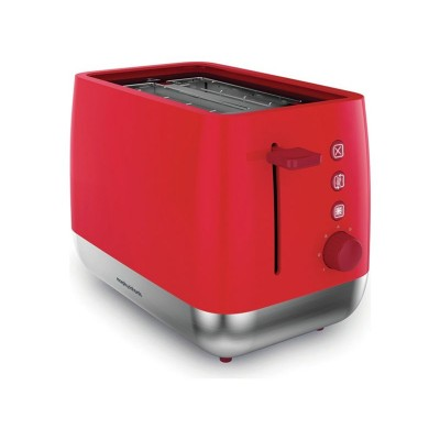 Morphy Richards 221112 Chroma 2 Slice Toaster - Poppy Red