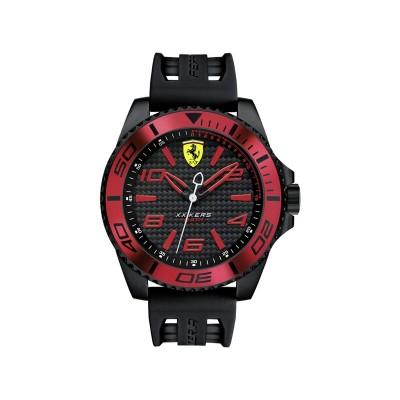 Scuderia Ferrari Men's XX Kers Silicone Strap Watch
