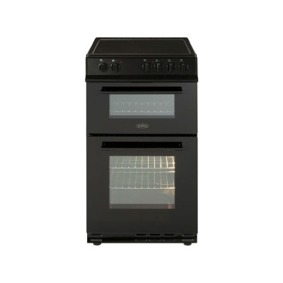 Belling FS50EDOFC 50cm Double Oven Electric Cooker - Black