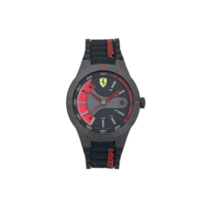 Scuderia Ferrari Men's Red Rev Evo Strap Watch