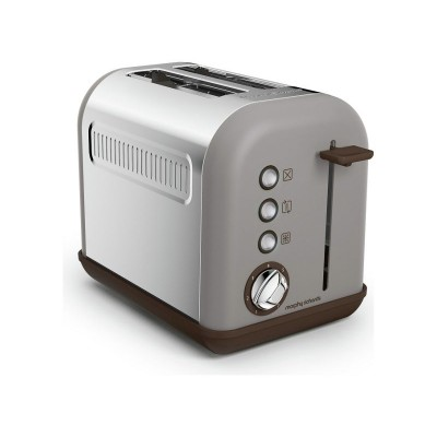 Morphy Richards 222005 Accents 2 Slice Toaster - Pebble