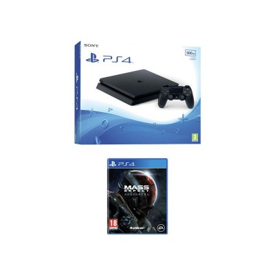 PS4 500GB Slim with Mass Effect Andromeda