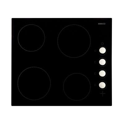 Beko HIC64102 Ceramic Dial Control Hob