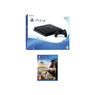 PS4 500GB Slim with Ghost Recon Wildlands