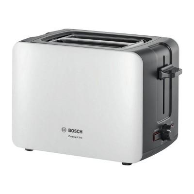 Bosch Comfort Line 2 Slice Toaster - White