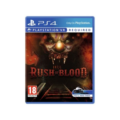 Until Dawn: Rush of Blood PS VR Game (PS4)