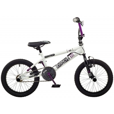 Rooster Radical 16 Inch Bike - White & Purple