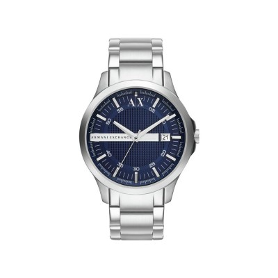 Armani Exchange AX2132 Blue Stainless Steel Bracelet