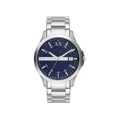 Armani Exchange AX2132 Blue Stainless Steel Bracelet