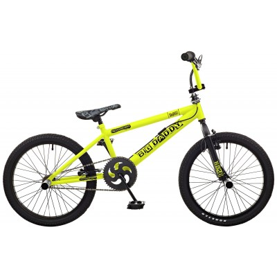 "Rooster Big Daddy 20"" BMX Bike - Yellow & Black"