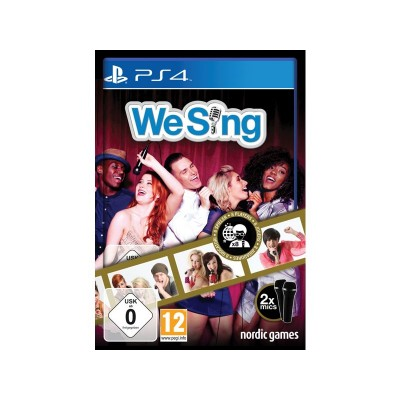 We Sing with 2 Mics PS4 Game