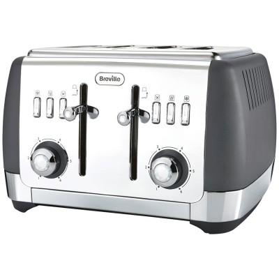 Breville Strata 4 Slice Toaster - Matt Grey