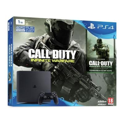 PS4 Slim 1TB Call of Duty Infinite Warfare Console Bundle
