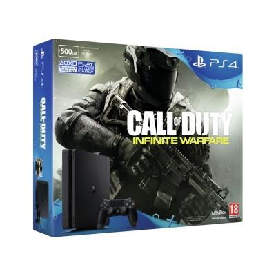 PS4 Slim 500GB Call of Duty Infinite Warfare Console Bundle