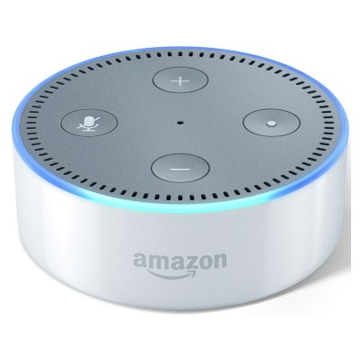 Amazon Echo Dot Multimedia Speaker - White