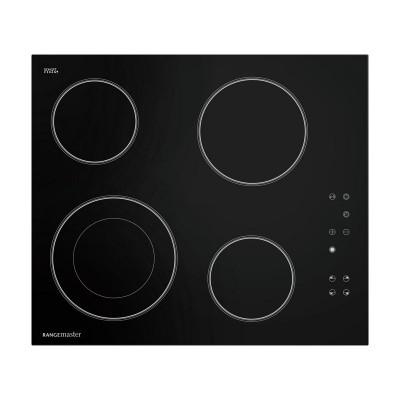 Rangemaster RMB60HPECGL 60cm 4 Zone Ceramic Hob - Black