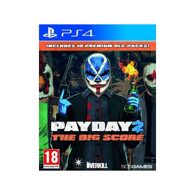 Payday 2: The Big Score PS4 Game