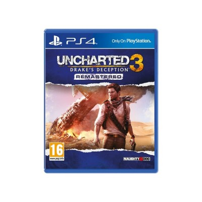 Uncharted 3: Drake's Deception PS4 Game