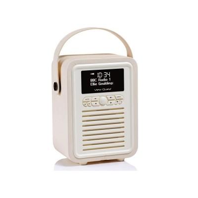 Argos Product Support for VQ Retro Mini DAB Radio - Cream ...