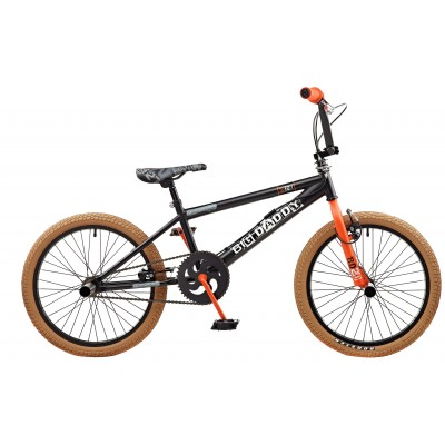 "Rooster Big Daddy 20"" BMX Bike - Black & Orange"
