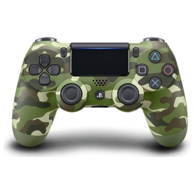 PS4 DualShock 4 V2 Wireless Controller - Green Camo
