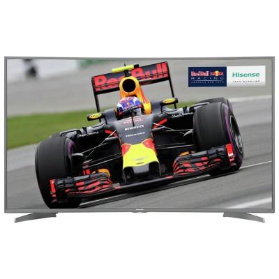 Hisense 55M6600 HDR 4K UHD Curved Smart LED TV
