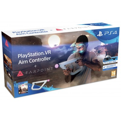 PS4 VR Aim Controller with Farpoint PS4 VR Game