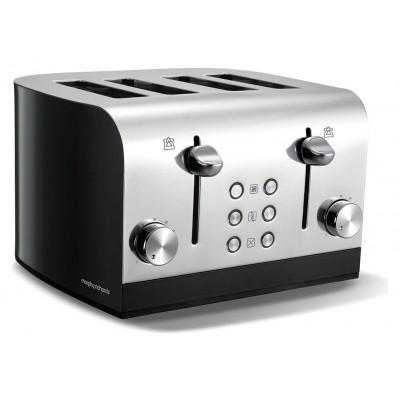 Morphy Richards Equip 241000 4 Slice Toaster - Black