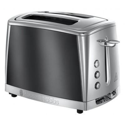 Russell Hobbs 23221 Luna 2 Slice Grey Toaster - Grey