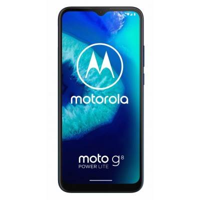 SIM Free Motorola G8 Power Lite 64GB Mobile Phone-Royal Blue
